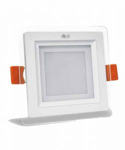 چراغ پنلی 7 وات LED SMD مربعی پارس شعاع توس مدل گلاریس