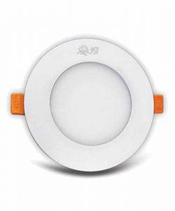 چراغ پنلی 8 وات LED SMD پارس شعاع توس مدل اسلندر