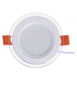 چراغ پنلی SMD توکار 7 وات پارس شعاع توس مدل گلاریس