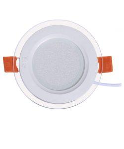 چراغ پنلی SMD توکار 9 وات پارس شعاع توس مدل گلاریس
