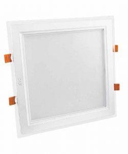 چراغ پنلی 30 وات LED SMD مربعی پارس شعاع توس مدل گلاریس