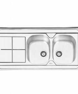 سینک روکار ایلیا استیل مدل 1041
