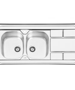 سینک روکار ایلیا استیل مدل 1042