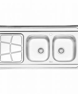 سینک روکار ایلیا استیل مدل 3030