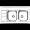 سینک روکار ایلیا استیل مدل 3051