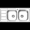 سینک توکار ایلیا استیل مدل 4051