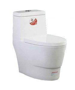 توالت فرنگی بومرنگ مدل MJ65