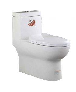 توالت فرنگی بومرنگ مدل MJ76