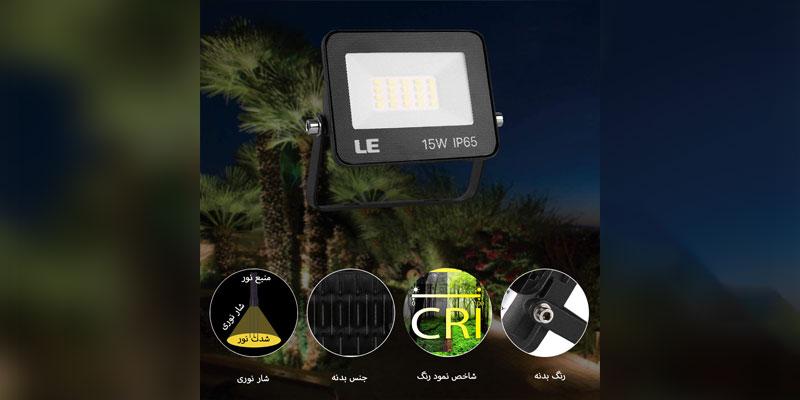 آشنایی با پروژکتور LED