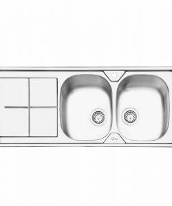 سینک توکار ایلیا استیل مدل 2041