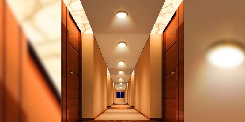 چراغ سنسوردار سقفی